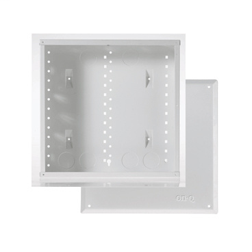 On-Q EN1420 14 Inch Glossy White 20 Gauge CRS Screw On Enclosure Cover