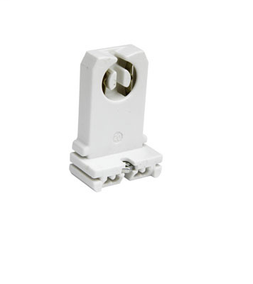 Pass & Seymour 13057-UN 1.25 x 0.75 x 1.68 Inch 600 Volt 660 W Slide-On Medium Bi-Pin Lamp Fluorescent Lampholder