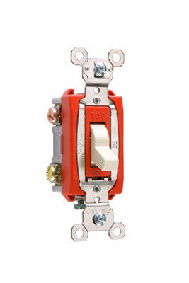 Pass & Seymour PS20AC3CSL Clear Industrial Extra Heavy Duty Specification Grade Switch