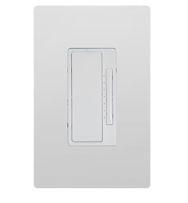 On Q LC2101-WH White In-Wall True Universal RF Dimmer