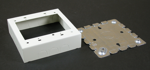 500/700 Two-Gang Switch and Receptacle Box Fitting