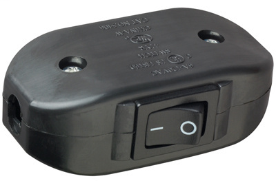 Mayer-Appliance Switch, Black-1