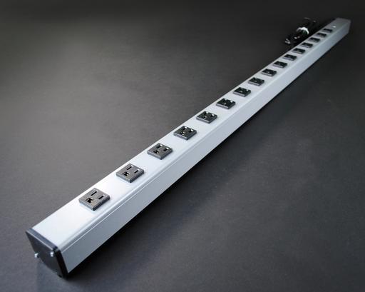 Plug-In Outlet Center Unit / 120V/15A/48 long/16 O/L /6' cord