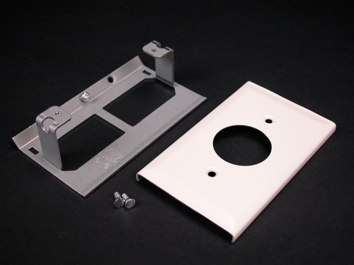 3000 Single Receptacle Cover Fitting