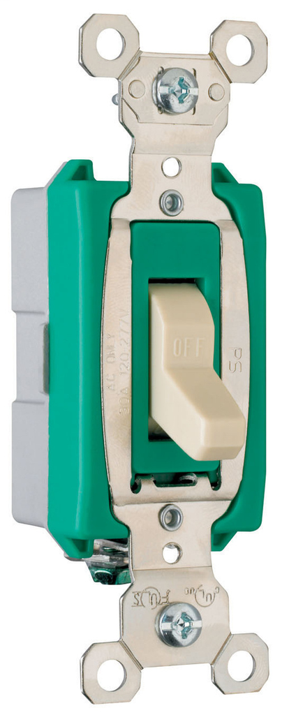 Mayer-Industrial Extra Heavy-Duty Specification Grade Switch, Ivory-1