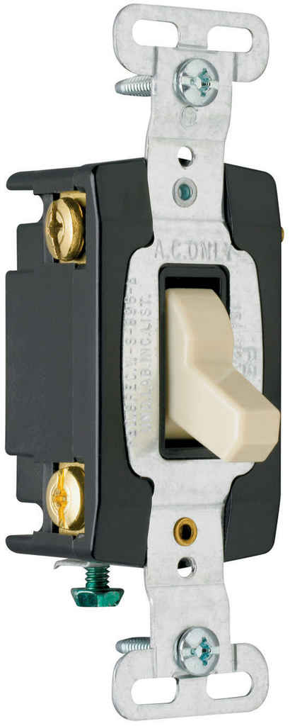 Mayer-Hard Use Specification Grade Switch, Gray-1