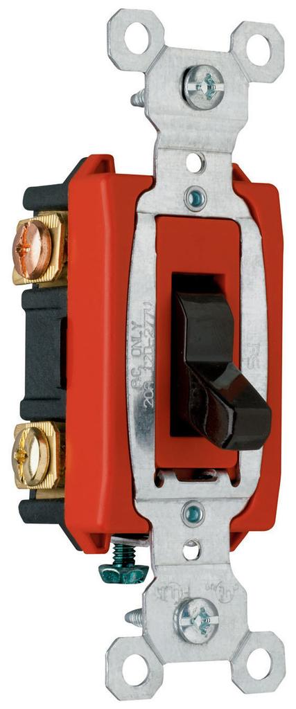 Mayer-Hard Use Specification Grade Switch, Black-1