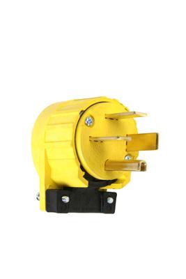 Mayer-Miscellaneous Configurations - Angled Plug, Yellow-1