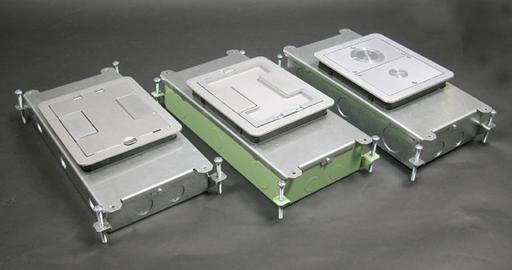 Mayer-Resource RFB® Series Two Gang Floor Box-1