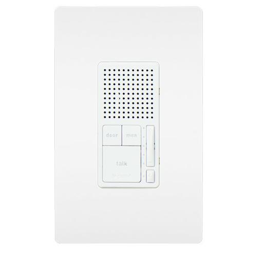 Broadcast Intercom Room Station, White