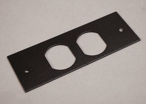 Mayer-Wiremold OFR Series Overfloor Raceway Duplex Device Plate-1