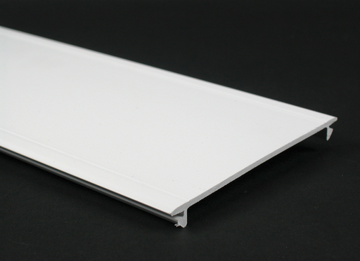 Mayer-Wiremold 5400 Series Full Width Raceway Cover, Ivory-1