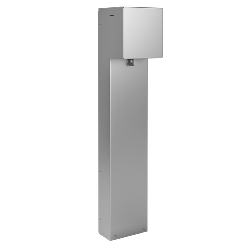 Mayer-Outdoor Power Pedestal, 1-Gang Device Plate with Hinged Cover-1