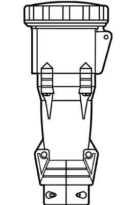 Mayer-60A Pin & Sleeve Connector-1