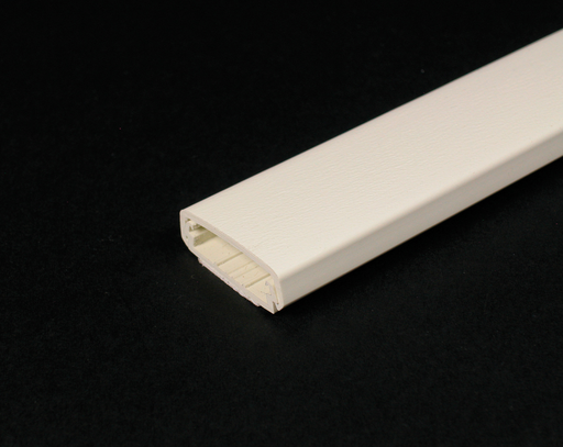 Mayer-Wiremold 800 Series Raceway Base and Cover, Ivory-1
