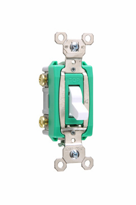 Mayer-Industrial Extra Heavy-Duty Specification Grade Switch, White-1