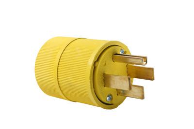 Mayer-Gator Grip Plug, Yellow-1