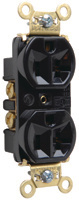 Mayer-Heavy-Duty Spec Grade Receptacles, Back & Side Wire, 20A, 125V, Black-1