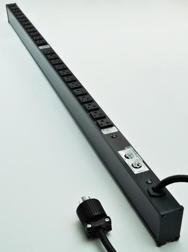 Power Commander PDU/120V/40A/split-phase (2 x 20A)/24 pcs 5-20R O/L
