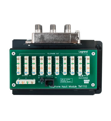 Mayer-10x8 Combo Module 110 IDC Punch Down with RJ31X-1