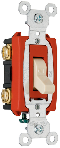 Mayer-Hard Use Specification Grade Switch, White-1