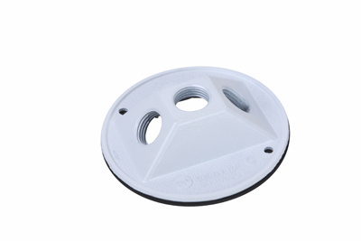 """Mayer-4"""""""" Round Outdoor Cluster Cover, Gray-1"""