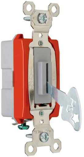 Mayer-Industrial Extra Heavy-Duty Specification Grade Lock Switch Back & Side Wire, Gray-1