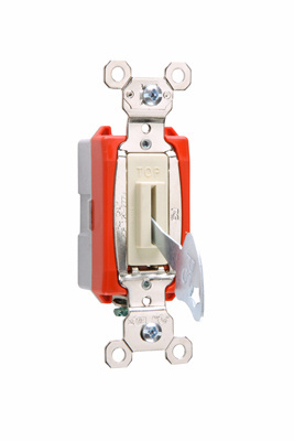 Mayer-Industrial Extra Heavy-Duty Specification Grade Lock Switch Back & Side Wire, Ivory-1