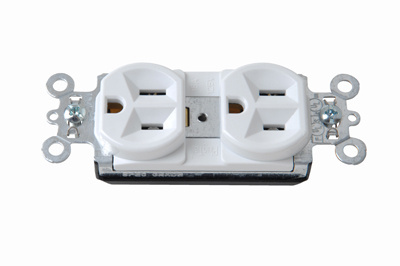 Mayer-PlugTail® Spec Grade Receptacles, 20A, 125V, White-1