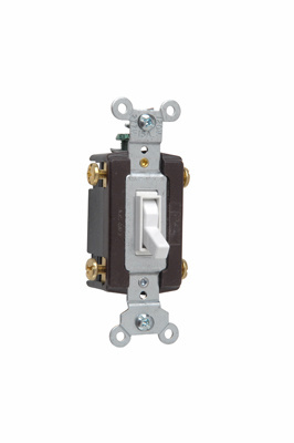 Mayer-TradeMaster Grounding Toggle Switch, White-1