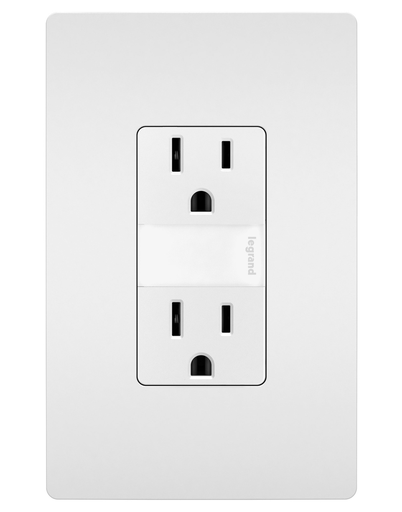 Mayer-radiant® 15A Tamper-Resistant Outlet with Night Light-1