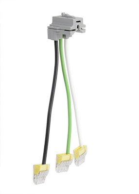 Mayer-PlugTail® Connectors, Right Angle with WAGO Connector, Stranded, 6''-1