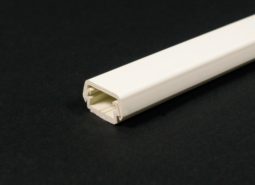 Mayer-Wiremold 400 Series Raceway Base and Cover, Ivory-1