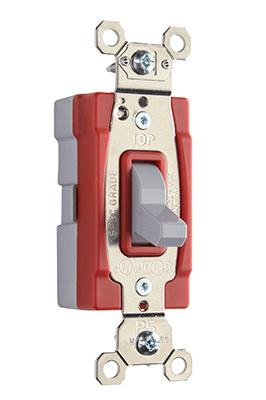 Mayer-PlugTail® Three-Way 20 amp Toggle Switch, Gray-1