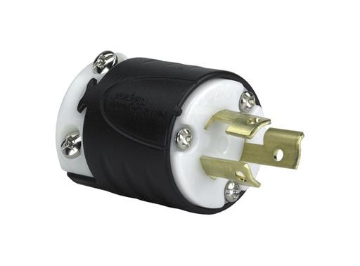 Mayer-15 Amp NEMA L715 Plug - Black Back, White Front Body-1