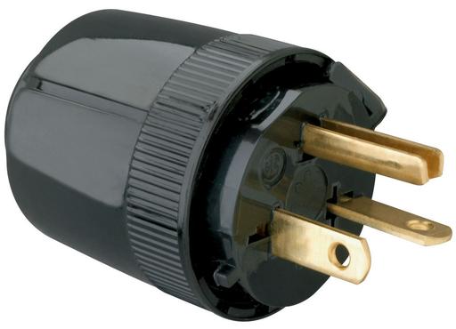 Mayer-Medium-Duty Dead Front Plug, Black-1
