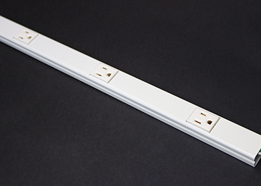 Mayer-Wiremold 20GB506 Plugmold Multioutlet System in Ivory-1