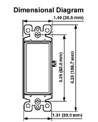 leviton 5604 2w rh frostelectric com Leviton Decora 3-Way Switch Wiring Diagram Leviton GFCI Wiring-Diagram