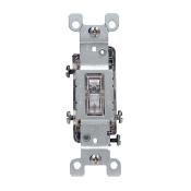 1463-LHC, Clear, 120 Volt, Thermoplastic, 15 Amp