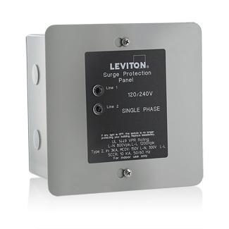 Leviton,51120-1,120 240 V SINGLE PH SRG PNL