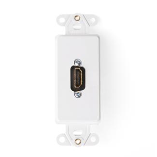 Leviton,41647-W,DECORA INSERT HDMI COUPLER WHITE