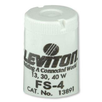 Leviton,13891,FLUOR STARTER FS 4