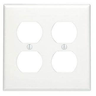 Leviton,88016,2G W/P DUPLEX WHITE