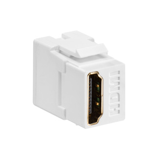 Leviton,40834-W,COUPLER HDMI WHITE