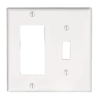 Wiring Devices & Wallplates Wallplates Combination Decora