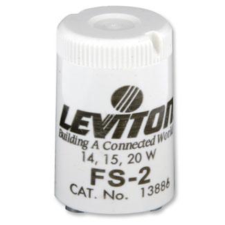 Leviton,13886,FLUOR STARTER FS 2