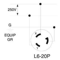 L6 20p Wiring Diagram | Repair Manual Nema L P Wiring Diagram on