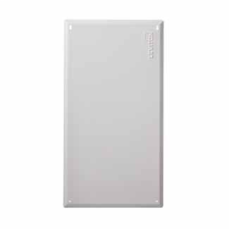 """28"""" Structured Media Flush-Mount Cover, Metal, White"""