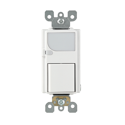 LEV 6526-W 15A SWITCH LED GUIDE LGT