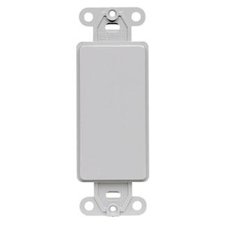 QuickPort Decora Multimedia Insert, Grey